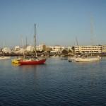 Unser Ankerplatz vor Arrecife