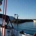 Hafenausfahrt La Graciosa