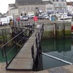 Docktor zum Hafen