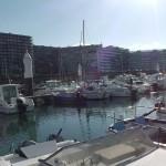 Hafenfront von Boulogne