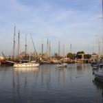 Einfahrt in den Stadthafen