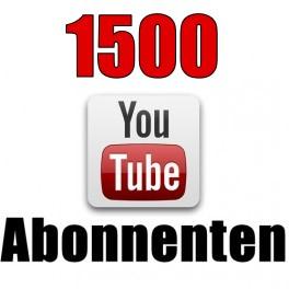 1500 Abonnenten
